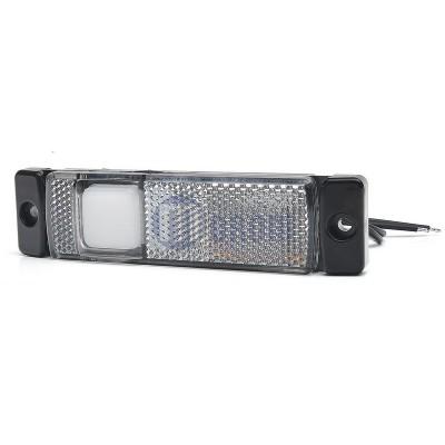 SEGNALATORE INGOMBRO BIANCO LED 12/24 V